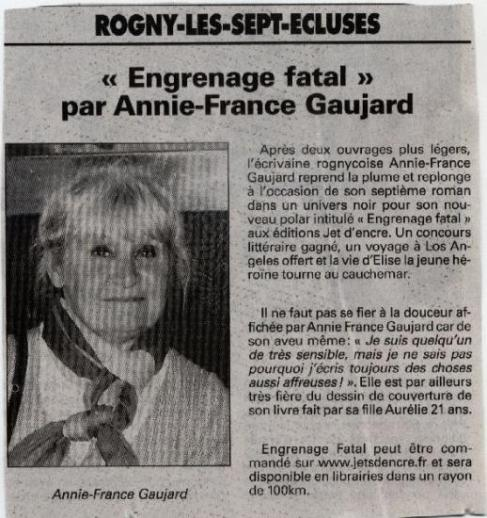 Rubrique  Pressbook